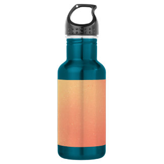Peach Swirl Stainless Steel Water Bottle