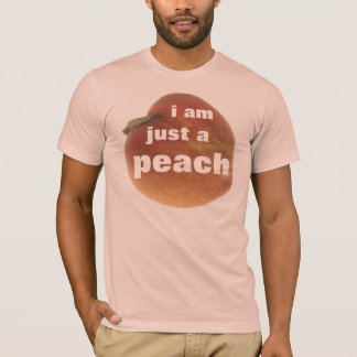 Men's Peach T-Shirts | Zazzle