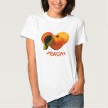 Peach T-Shirt (peachy) Playeras