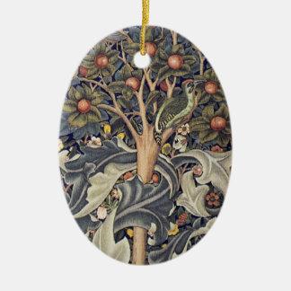 Peach Tree Art Ceramic Ornament