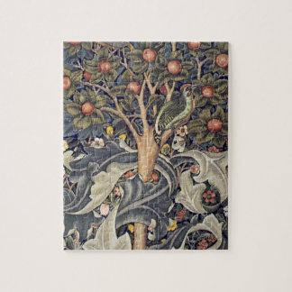 Peach Tree Art Jigsaw Puzzle