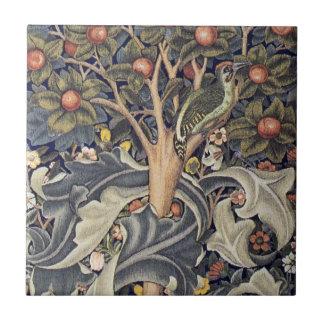 Peach Tree Art Tile