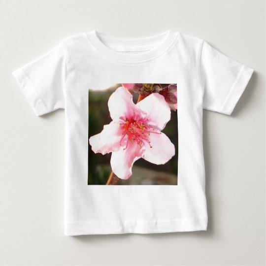 Peach Tree Blossom Baby T-Shirt