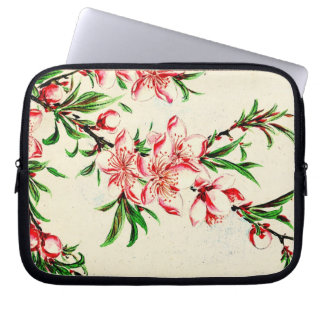 Peach Tree Blossoms 1870 Computer Sleeve