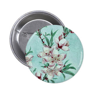 Peach tree branches blossoms by Megata Pin