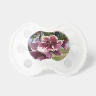 Peach tree branches with blossoms BooginHead pacifier