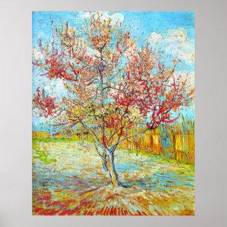 Peach Tree in Bloom at Arles Van Gogh Poster