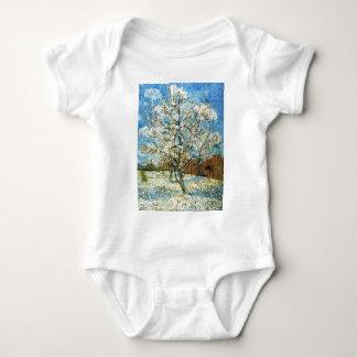 Peach Trees in Blossom Vincent Van Gogh Baby Bodysuit