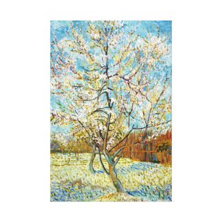 Peach Trees in Blossom Vincent Van Gogh Stretched Canvas Prints