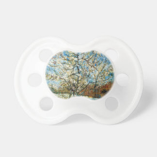 Peach Trees in Blossom Vincent Van Gogh Pacifier