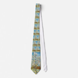 Peach Trees in Blossom Vincent Van Gogh Tie