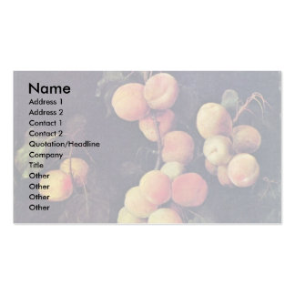 Peach Twig By Flegel Georg Double-Sided Standard Business Cards (Pack Of 100)