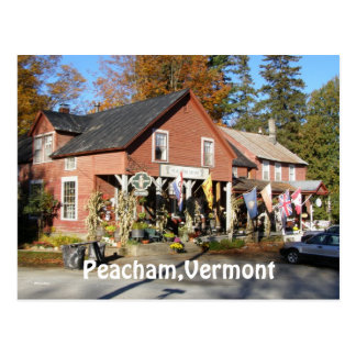 Peacham,Vermont Post Card