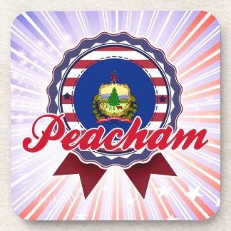 Peacham, VT Beverage Coaster