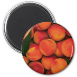 Peaches 2 Inch Round Magnet
