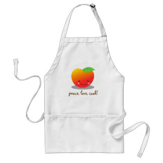 Peaches Adult Apron