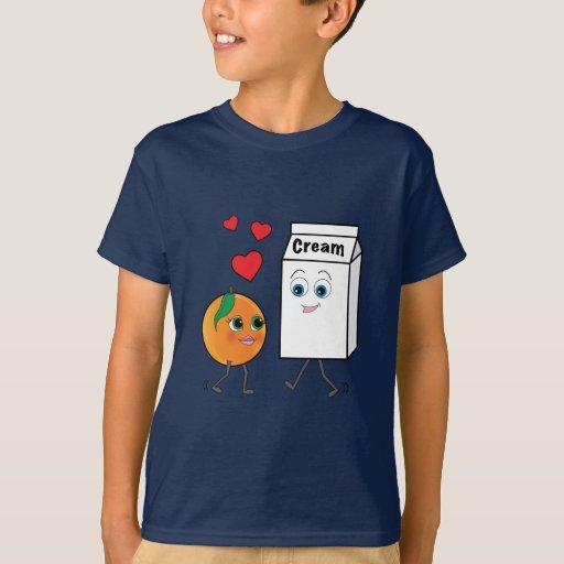Peaches and Cream in Love T-Shirt