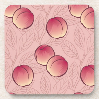 Peaches Beverage Coaster