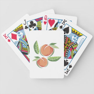 Peaches Bicycle Playing Cards