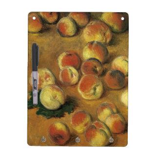 Peaches by Claude Monet Dry Erase Board