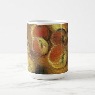Peaches by Claude Monet Classic White Coffee Mug