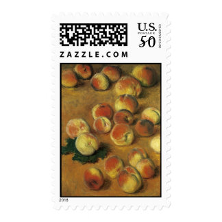 Peaches by Claude Monet Postage