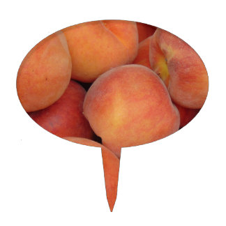 Peaches Cake Topper
