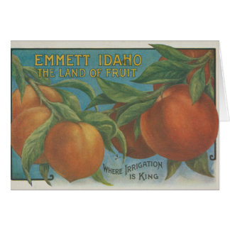 Peaches Card