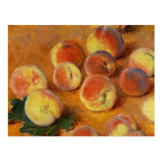 Peaches - Claude Monet Postcard