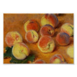 Peaches - Claude Monet Print