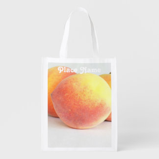 Peaches from Georgia Reusable Grocery Bag