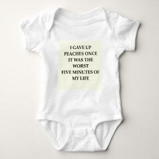 PEACHES.jpg Baby Bodysuit