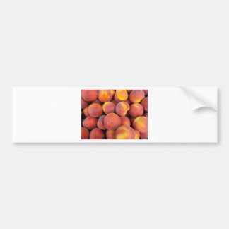 peaches Just in the globe Bumper Sticker