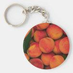 Peaches Keychain