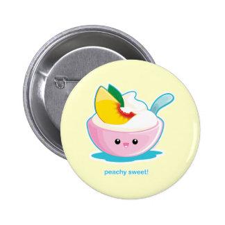Peaches 'N Cream Pins