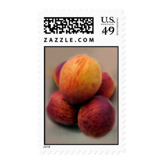 Peaches Postage Stamps