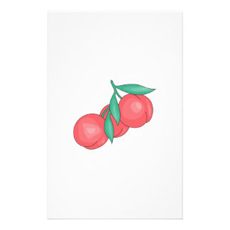 Peaches Stationery