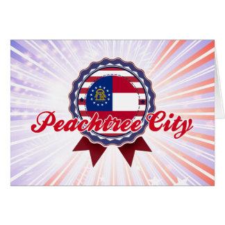 Peachtree City GA Greeting Card