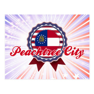Peachtree City GA Postcard