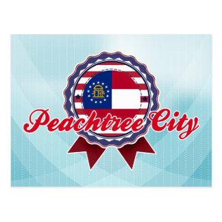Peachtree City GA Post Card