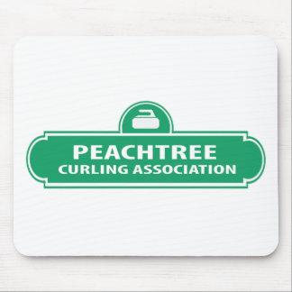 Peachtree Curling Logo Mousepad