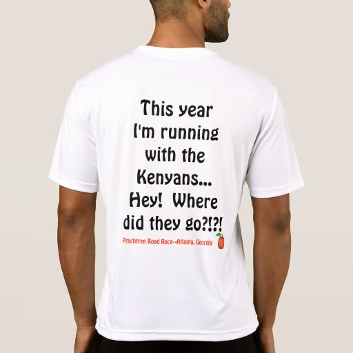 Peachtree Road Race T-shirts
