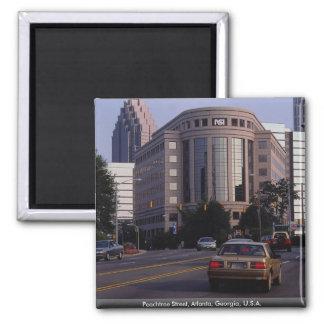 Peachtree Street, Atlanta, Georgia, U.S.A. Magnet
