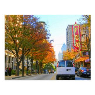Peachtree Street Postcard