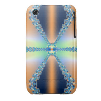 Peachy Baby Blue Case-Mate iPhone 3 Case