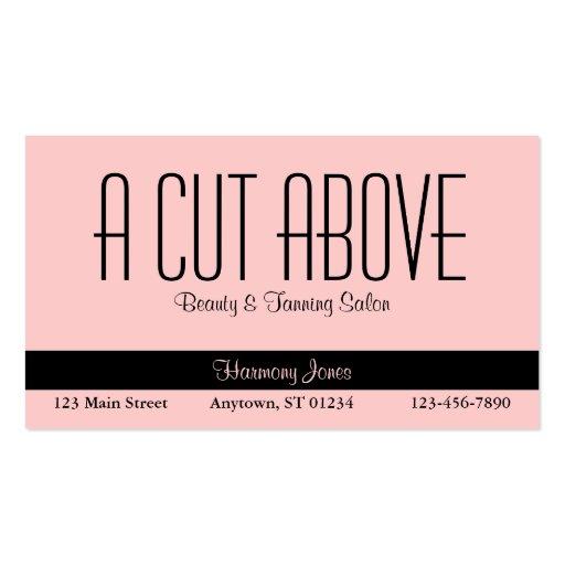 Tanning business card templates bizcardstudio peachy beauty salon business card colourmoves
