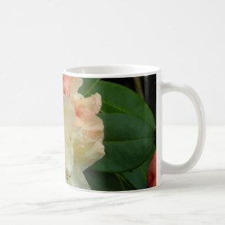 Peachy Cream Azaleas Coffee Mug