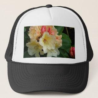 Peachy Cream Azaleas Trucker Hat