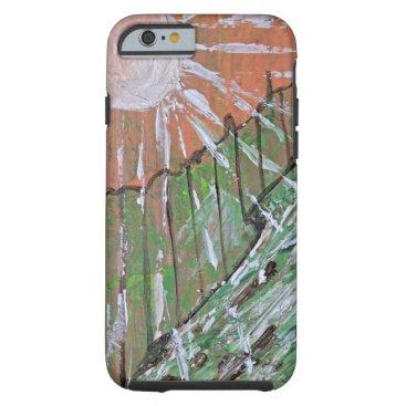 alburtonart Peachy Day Tough iPhone 6 Case