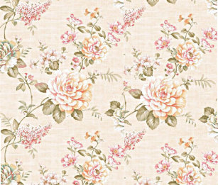 Vintage floral wrapping paper zazzle peachy day wrapping paper mightylinksfo